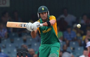 Du Plessis clinches series for South Africa