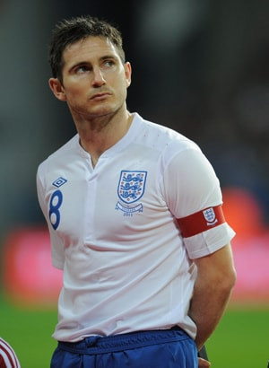 Veteran Frank Lampard to lead out youthful England