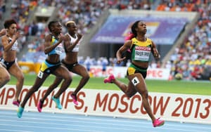 Allyson Felix, Shelly-Ann Fraser-Pryce set up repeat of Olympic final