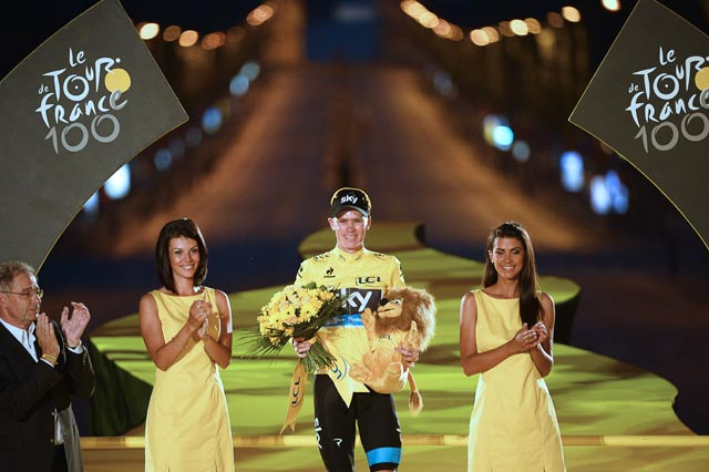 Tour de France: Froome can restore cycling's reputation, says father
