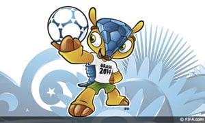 2014 FIFA World Cup mascot named 'Fuleco'