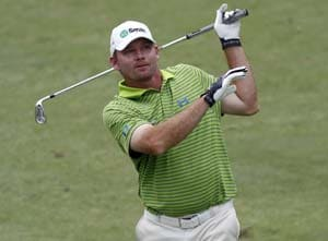 Tommy Gainey takes 3-shot lead in Wyndham