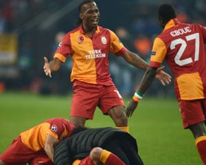UEFA Champions League: Galatasaray knock out Schalke to reach quarters