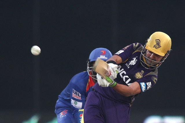 Kolkata Knight Riders skipper Gautam Gambhir Scores Most Fifty-Plus IPL Knocks