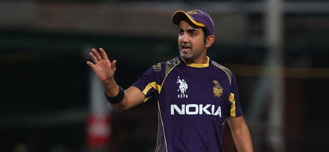 IPL 7: Kolkata Knight Riders Skipper Gautam Gambhir in 'Korbo Lorbo Jeetbo' Mode Ahead of Big Final