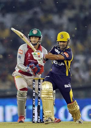 IPL 5: Gambhir helps Kolkata thump Punjab