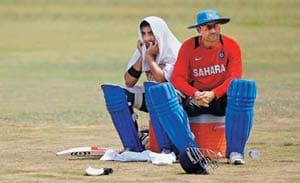 Virender Sehwag raises questions by skipping net session again