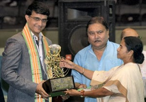 Sourav Ganguly receives lifetime achievement award as Mamata government spends big on sports