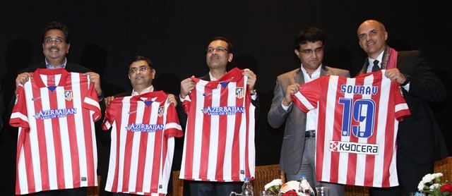Indian Super League football: Sourav Ganguly-backed Atletico de Kolkata launched