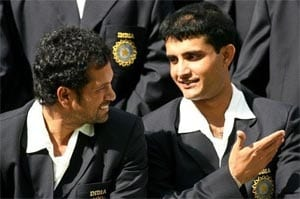 Sachin Tendulkar was unhappy when asked to bat at number four in ODIs: Sourav Ganguly
