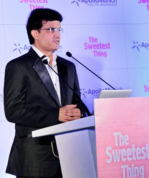 Sourav Ganguly refuses to comment on politics