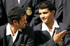 Sachin Tendulkar does not play football that well, I need to teach him: Sourav Ganguly