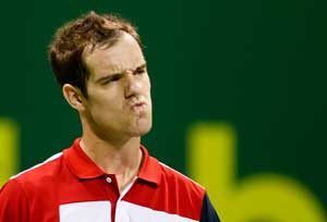 Richard Gasquet starts the new year with a final