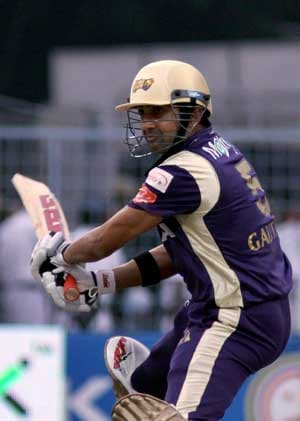 Gambhir out to make a statement against old team