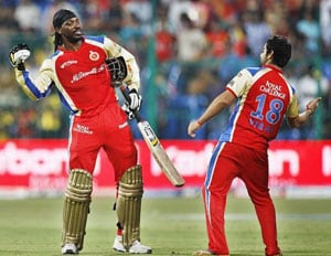 IPL 6: History on Mumbai's side, Gayle on Bangalore's