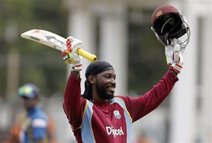 Live Cricket score, Chris Gayle