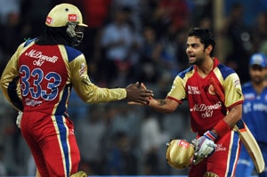 IPL 5: Delhi vs Bangalore statistical highlights