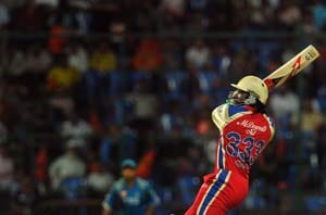 Chris Gayle's 30-ball century is fastest ever in IPL