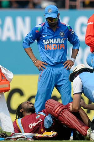 Chris Gayle injured, likely to be out of remainder of ODI series vs India