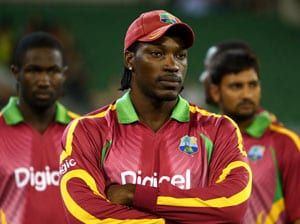 Gayle's career at stake after heated meeting