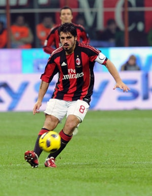 Gattuso back in training after eye injury