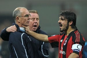UEFA opens case against Gattuso over head-butt