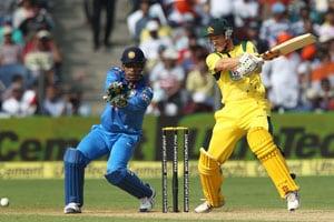 1st ODI Stats: Australia win eleventh game defending 300-plus vs India