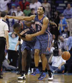 Bobcats hold on to beat Hornets, 73-71