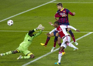 UEFA Champions League: Lionel Messi hat-trick sees Barcelona sweep aside Ajax