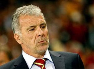 Morocco fire chief football coach Eric Gerets
