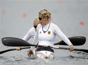 Germany wins gold in women's 500-meter K-2