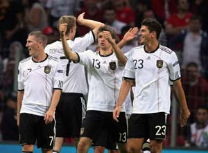 Germany down Turkey to claim ninth qualifier win