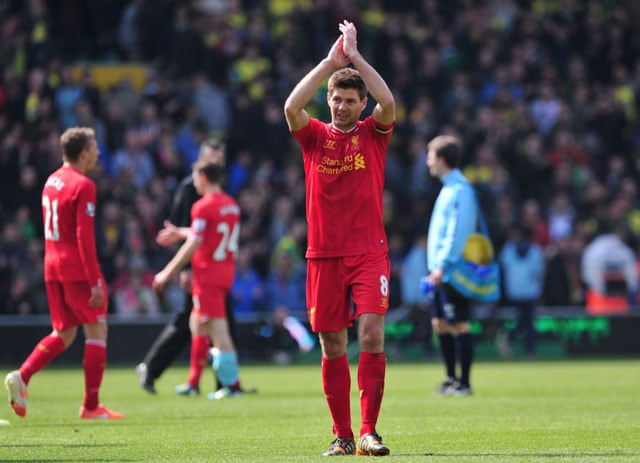 English Premier League: Liverpool F.C. edge Norwich City 3-2 to close on title