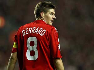 Liverpool F.C. confirm Steven Gerrard will be out for four weeks