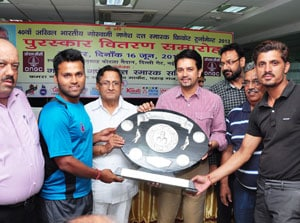 GG Dutt Memorial Cricket Tournament: Sporting Cricket Club lifts the 2013 trophy
