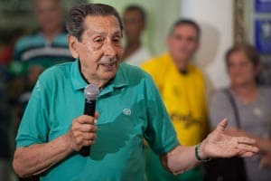 Alcides Ghiggia expects release from hospital this week