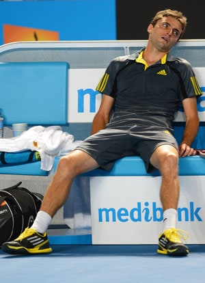 Exhausted Gilles Simon might not go distance with Andy Murray