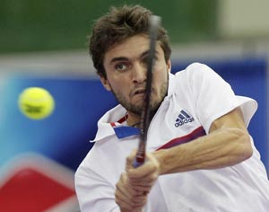 Gilles Simon to face compatriot Gael Monfils in Bangkok battle