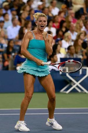 US Open: Camila Giorgi knocks Caroline Wozniacki out in three sets