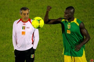 Senegal hires Alain Giresse as national team coach
