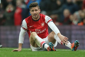 Arsenal striker Olivier Giroud apologises for extra-marital affair on Twitter