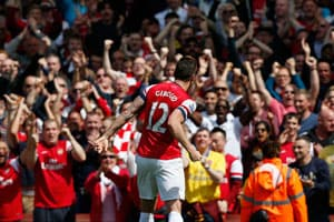 EPL: Olivier Giroud Scores in Arsenal's 1-0 Win Over West Brom