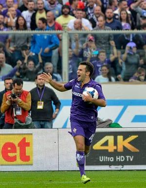 Serie A: Giuseppe Rossi scores hat-trick as Fiorentina stun Juventus 4-2