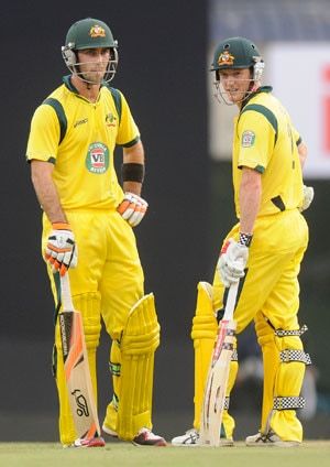 India vs Australia ODIs: Glenn Maxwell all praise for George Bailey, the skipper