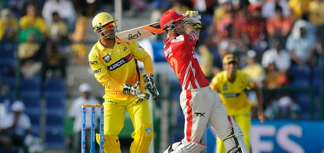 IPL 7: Glenn Maxwell's explosive 95-run knock sets the tone for Kings XI Punjab