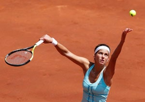 Julia Goerges in Madrid semis