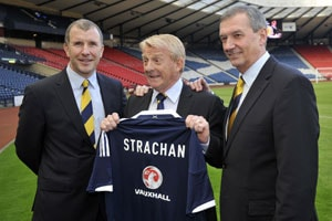 Gordon Strachan proud to become Scotland manager
