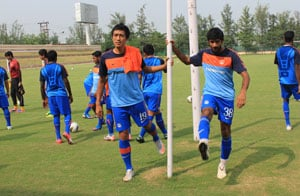 Indian football team camp for SAFF Championships from Aug 16