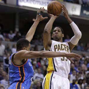 Granger leads Pacers over Thunder