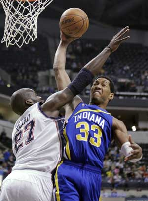 Pacers end 5-game skid with 93-88 win over Nets